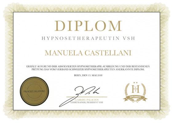 Hypnosetherapeutin VSH