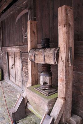 シュヴァルツヴァルト「黒い森」野外博物館 グータッハ 果実搾り機