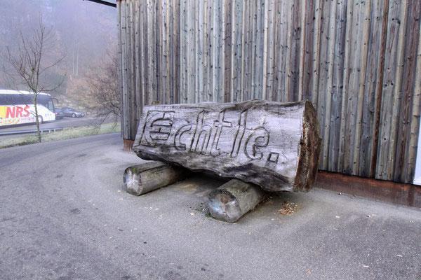 ノルドラッハにある製材所「エシュテル」
