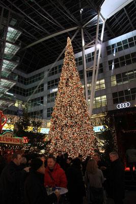 ミュンヘン空港 クリスマスマーケット