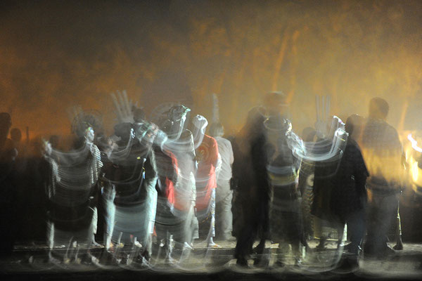 Danse  masques blanc de Bondokuy (Burkina Faso)