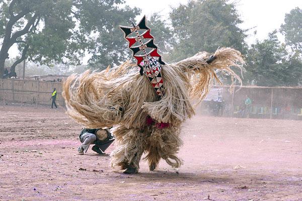 Masque planche (Burkina Faso)