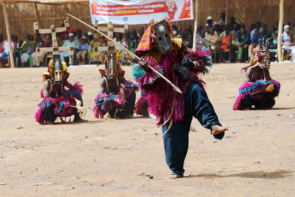 Masque vieux Albarga (Mali-Pays Dogon)