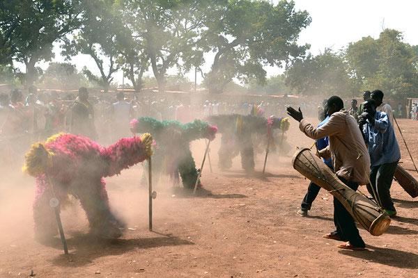 Masque fibres (Burkina Faso)