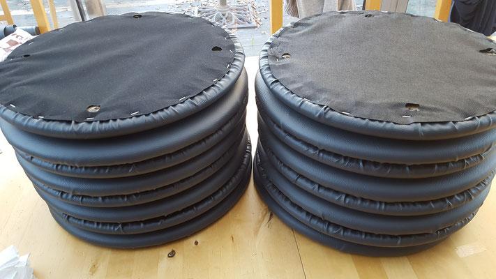 Réfection galets de chaises