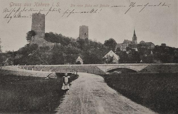 abgestempelt am 11.05.1907 / ein Geschenk von Joachim Riebel - Leipzig