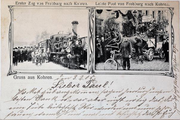 handschriftlich datiert 03.02.1908