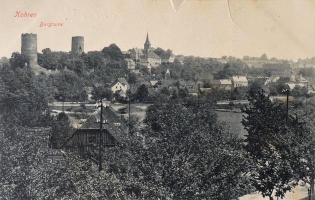 abgestempelt am 17.07.1916 / ein Geschenk von Joachim Riebel - Leipzig