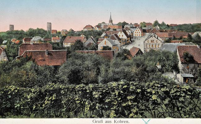 Leuchtfenster Ansichtskarte / abgestempelt am 16.09.1912