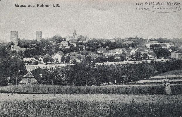 handschriftlich datiert 05.02.1908