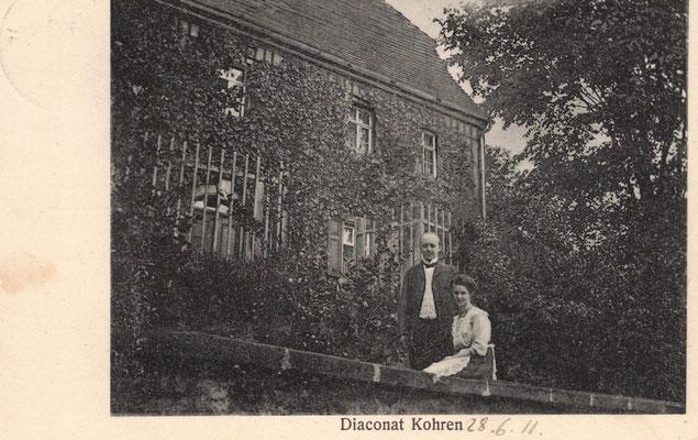 abgestempelt 1911 / ein Geschenk von Joachim Riebel - Leipzig