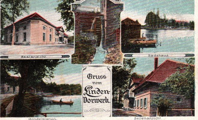 abgestempelt 1918 / ein Geschenk von Joachim Riebel - Leipzig