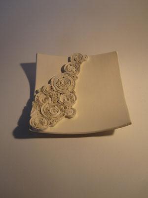 Plat roses minérales