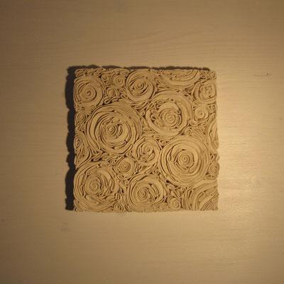 Tableau roses minérales