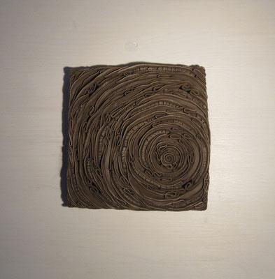 Tableau spirale minérale