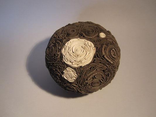 Roses minérales bicolores