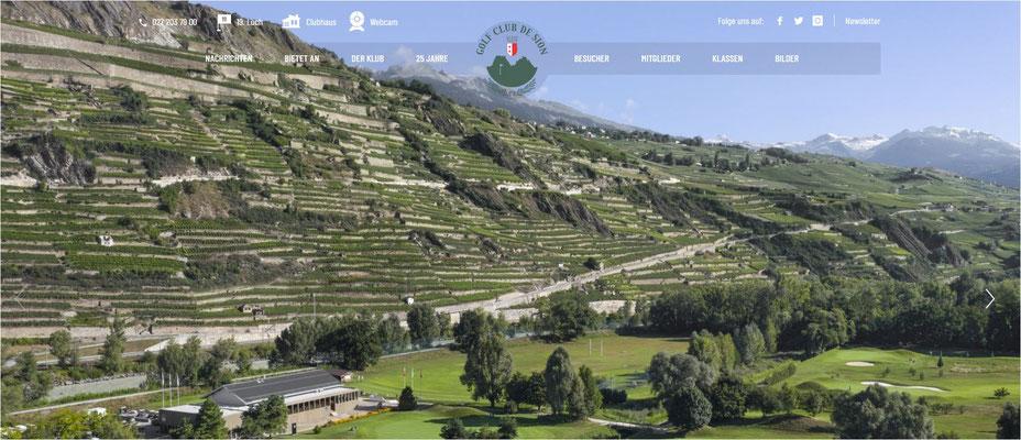 Golfhotel mit Golfplatz Wallis - ganzes Jahr offener Golfplatz Schweiz?