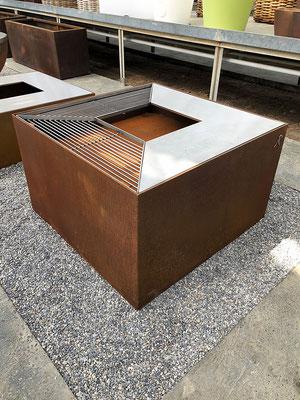 feuerwürfel cubo stahl-art Rufer