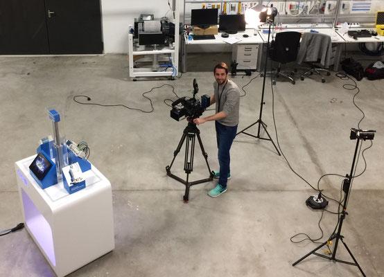 Dreharbeiten für Die Zwo (SMC), © 2017 by Dennis Westenberger