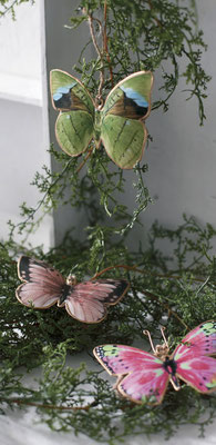 Papillons à suspendre