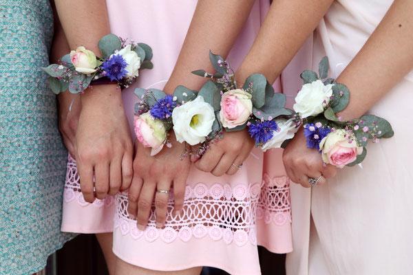 Bracelets, demoiselles d'honneur, mariage