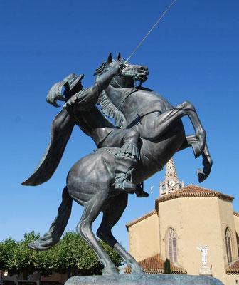 Lupiac, village natal de D'Artagnan