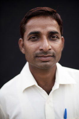 "Dilip Kumar Yadav, 28, studies IT, ""I came yesterday but didn't stay for long. I've been around for a while today but I haven't played any games."" Gorakhpur, Uttar Pradesh"