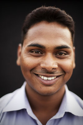 """Arvind Yadav, 23, works in Bus Agency: """"This is a good show, people will learn. They will not open defecate. This is a good way to teach people but you must teach every day in schools. That will create an impact."""""""