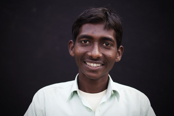 """Amit Kumar, 18, first year BA college: """"I really liked the Cricket game. I have a toilet and we use it. This has been fun. It has taught something to most people."""" Gorakhpur, Uttar Pradesh."""