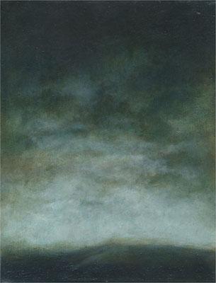 Lasurskizze, 1993 / 2016, Öl auf Leinwand, 27 x 34 cm