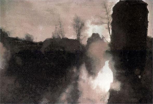Gerbersaale, Version 1, 2000, 6_Farb, 53 x 40 cm, Unikat