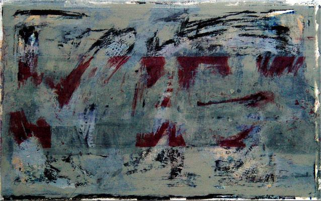 Zeichen 2, 2002, 60 x 39 cm, Unikat