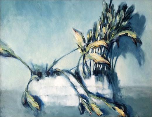 Tulpen 2, Öl auf Leinwand, 2014, 60 x 50 cm