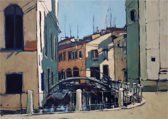 Venedig, Öl auf Leinwand, 2020, 70 x 50 cm
