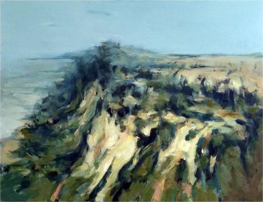 unten und oben, Öl auf Leinwand, 2018, 100 x 80 cm