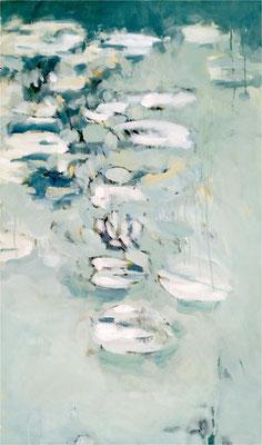 Mariosee, Öl auf Leinwand, 2016, 60 x 100 cm