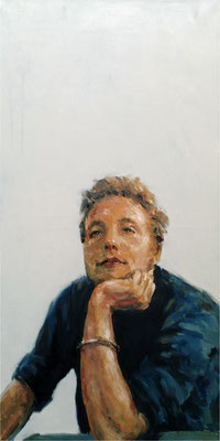 Franz, Öl auf Leinwand, 2017, 50 x 100 cm