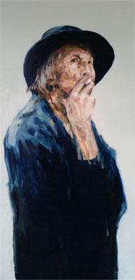Mutter, Öl auf Leinwand, 2017, 50 x 100 cm