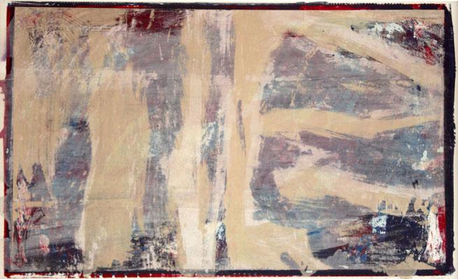 Zeichen 1, 2002, 60 x 40 cm, Unikat