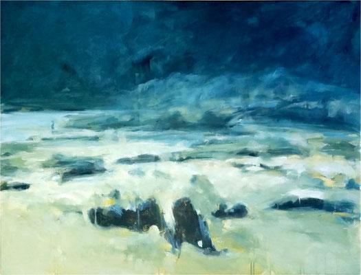 Boltenhagen IV, Öl auf Leinwand, 2016, 90 x 70 cm