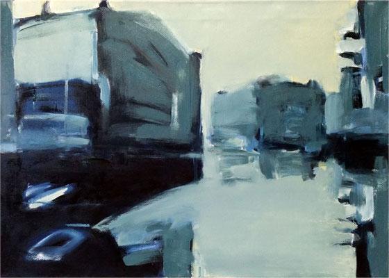 Könneritzbrücke, Öl auf Leinwand, 2018, 70 x 50 cm
