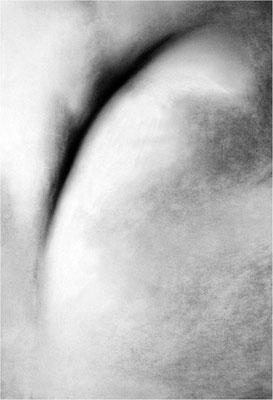 Weiß 1, 2007, 70 x 100 cm