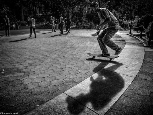 New York Skate boarding
