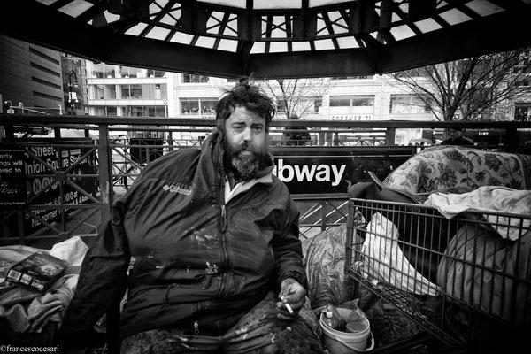 Marc the Painter Homeless