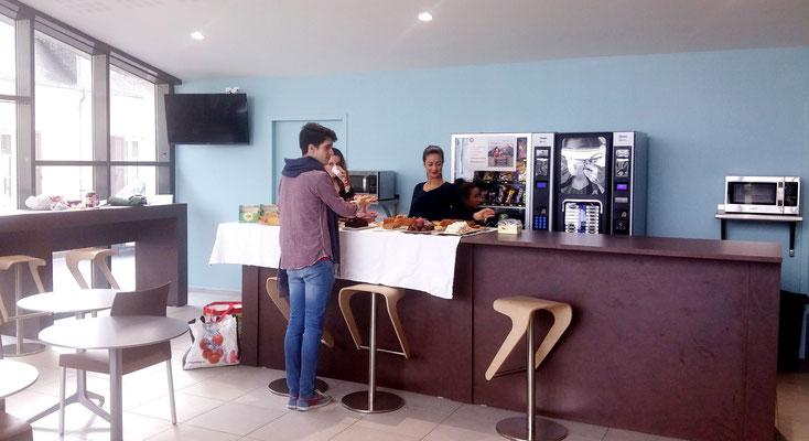 BDE Sainte-Marie : vente de cupcakes au profit des Chrétiens d'Orient (14 février 2015)