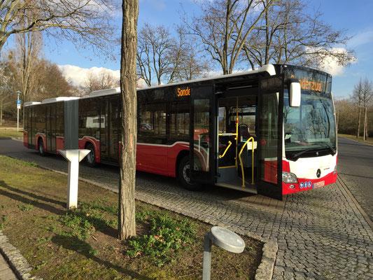 24.02.2016, Mercedes-Benz Citaro G, Mannheim > Wiener Neustadt, Österreich