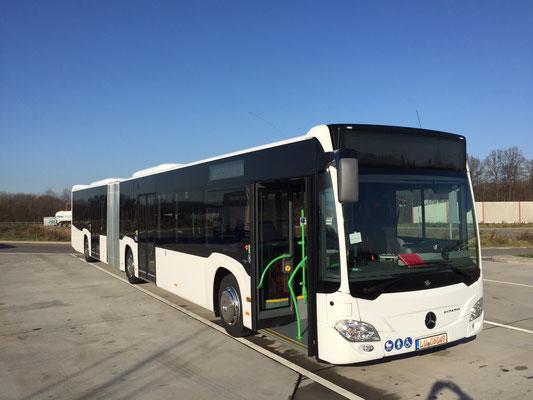 08.12.2015, Mercedes-Benz Citaro G, Mannheim > Königsbrunn