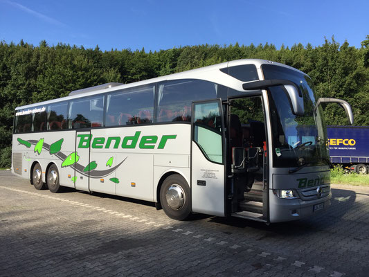 31.07.2017, Mercedes-Benz Tourismo, Frankfurt > Koblenz