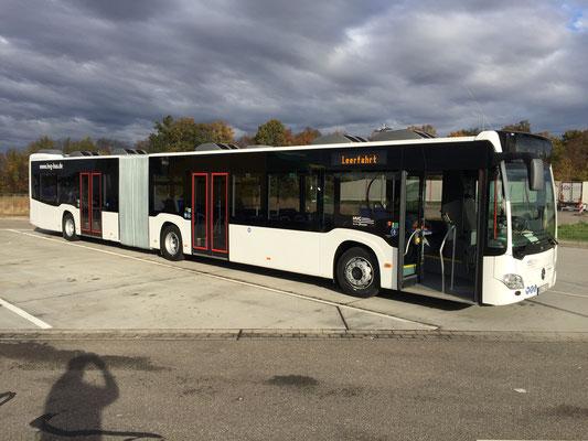 12.11.2018, Mercedes-Benz Citaro G, Mannheim - Heidenheim