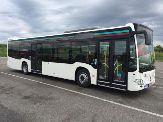 21.06.2018, Mercedes-Benz Citaro 12 m, Mannheim > Calw